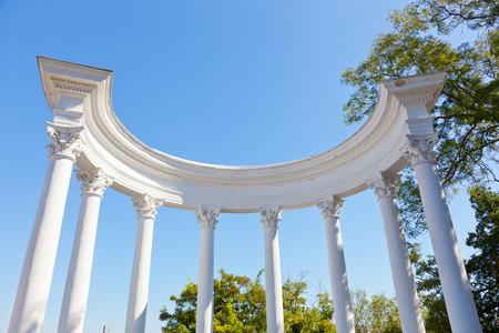 rotunda: Sevastopol, rotunda overlooking the Southern bay, the Crimea, Russia