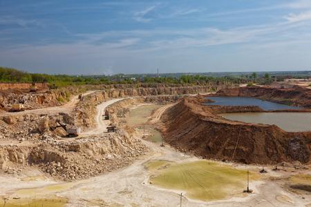 mineria: Cielo abierto grande en la miner�a