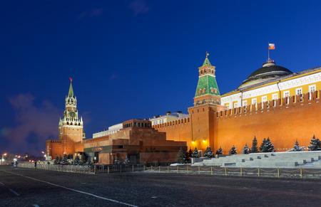 spasskaya: Spasskaya tower of Kremlin, night view. Moscow, Russia