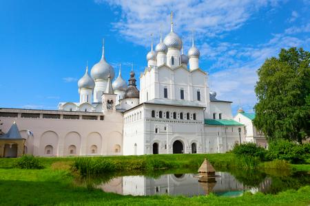 golden ring: Rostov Kremlin, Golden Ring Russia Stock Photo