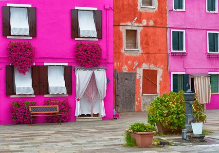 case colorate: Case colorate di Burano, Venezia