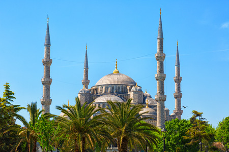 sultan: Sultan Ahmed Mosque in Istanbul, Turkey