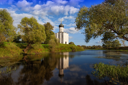 nerl: Church of the Intercession of the Holy Virgin on Nerl River, Bogolyubovo, Russia