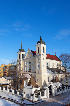 saints peter and paul: Cathedral of Saints Peter and Paul Church in Minsk, Belarus