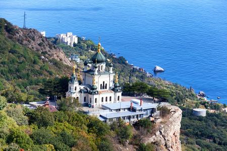 Church of Christs Resurrection over the settlement of Foros,  Crimea
