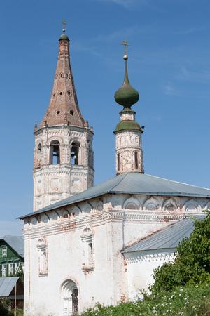 Church of Jesus triumphal entry into Jerusalem, Suzdal, Russia