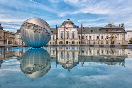 presidential: Presidential palace in Bratislava