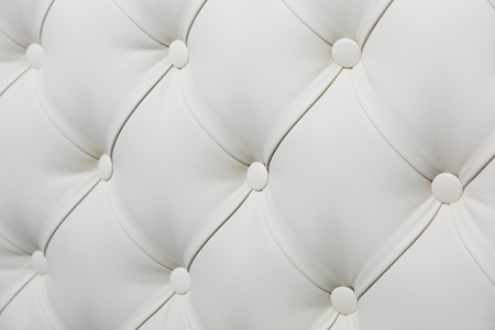white leather texture: Closeup of Natural white leather texture Stock Photo