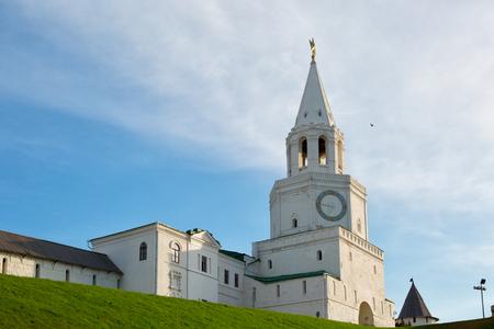 spasskaya: Spasskaya (Saviors) Tower, Kazan Kremlin in Russia
