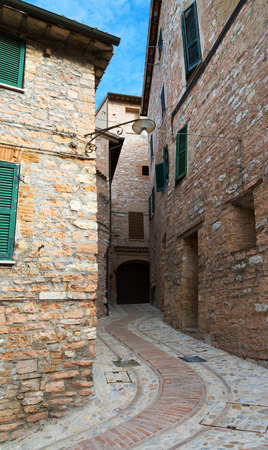 spello: old town of Spello in Umbria, Italy Stock Photo