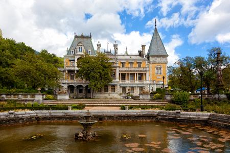 Palace of the emperor Alexander III in Massandra, Crimea