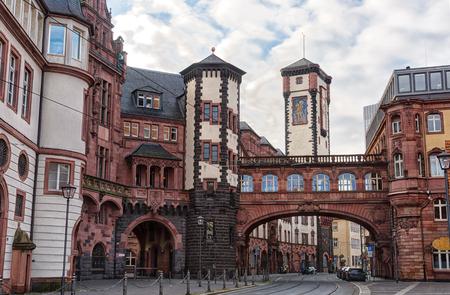 roemer: Römerplatz in Frankfurt am Main, Germany