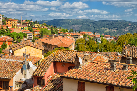 Beautiful view of the ancient city of Perugia. Umbria, Italy Stock Photo