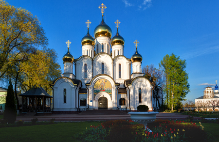 St. Nicholas Monastery (or Nikolsky Monastery) is a Russian Orthodox monastery in Pereslavl-Zalessky, Russia. Golden Ring of Russia