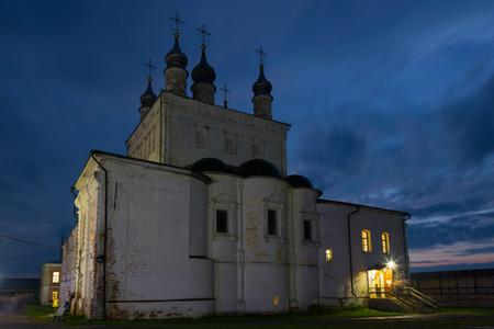 Chutch of the Goritsky Monastery of Dormition in Pereslavl-Zalessky, Russia