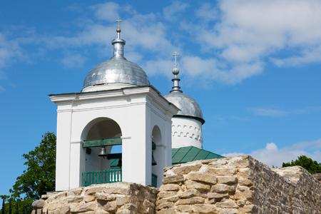 Restored Izborsk fortress. Izborsk, Pskov region,Russia