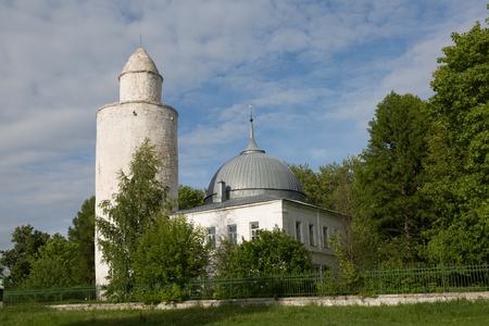 Khan mosque in the center of Kasimov, Ryazan region, Russia