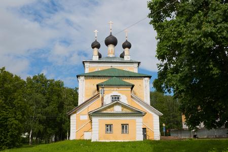 Spaso-Preobrazhensky Cathedral in Uglich, Russia Stock Photo