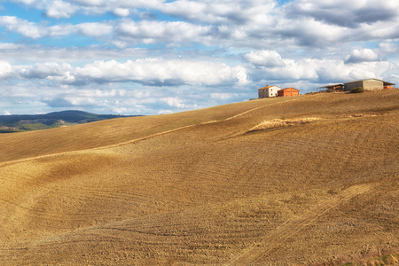 Typical rural landscape in Tuscany, Italy