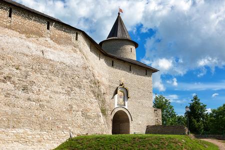 Restored Izborsk fortress, Pskov region,Russia