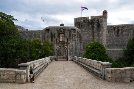 Pile Gate in Dubrovnik, Croatia Banque d'images - 99002815