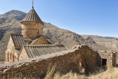 Surb Karapet St. John the Baptist Church in Armenia. Noravank monastery is a popular historical site in Armenia.
