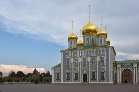 Assumption Cathedral in the Kremlin of Tula. Cathedral of the Assumption of the Blessed Virgin in the Kremlin. Russia