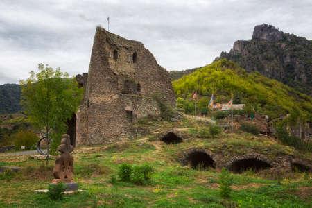 View of ancient monastery Akhtala, Armenia