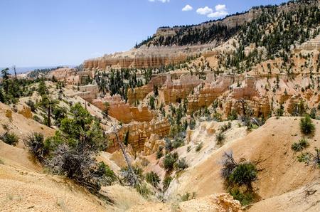 fairyland: Bryce Canyon - National Park - USA Fairyland Loop Trail Stock Photo