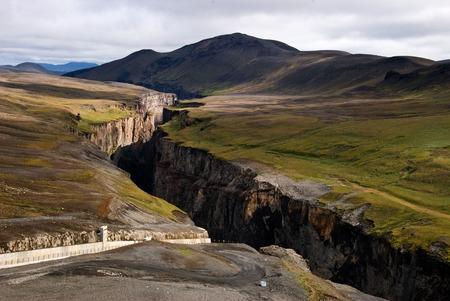 Karahnj kar Damm - Schlucht des Flusses J KULS? ? Dal