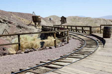 Historic Calico ghost town in California