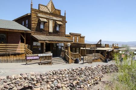Historische Kaliko Geisterstadt in Kalifornien