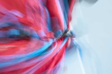 Abstract red and blue blurred lines which are possilble to use as a backround Standard-Bild