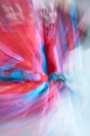 light backround: Abstract red and blue blurred lines which are possilble to use as a backround Stock Photo