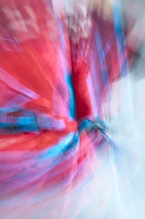 Abstrakte rote und blaue verschwommenen Linien, die possilble sind, um als Hintergrund verwenden