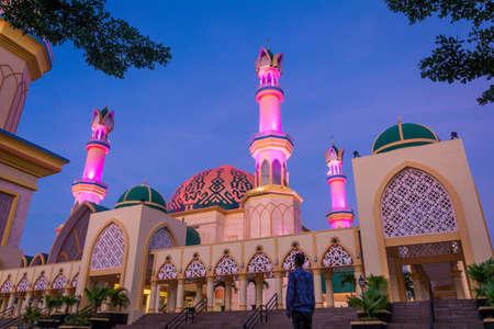 Hubbul Wathan Mosque,West Nusa Tenggara,Lombok,印度尼西亚的伊斯兰中心