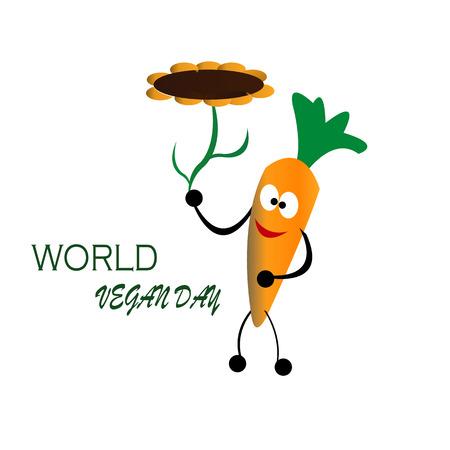Wereld veganistische dagviering