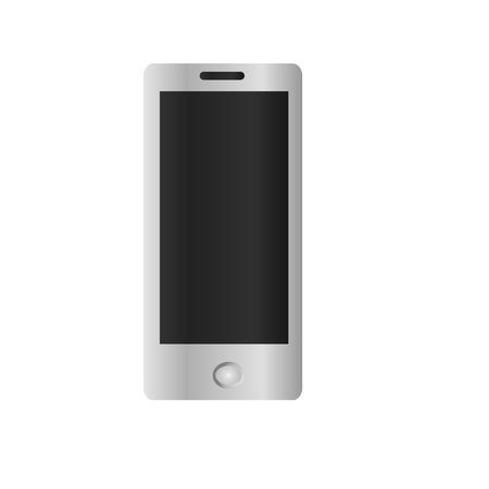 Smartphone model illustratie