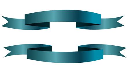 Blauwe vaandel pictogrammen