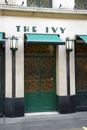 nightspot: The Ivy, West Street, London, Britain - September 2009