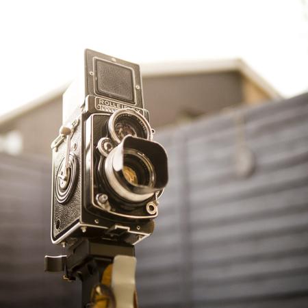 Rolleiflex Twin Lens Reflex Camera - Sept 2014