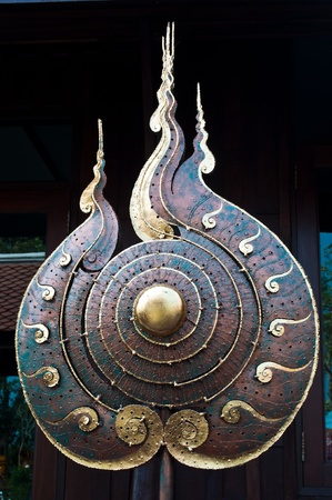 Luck symbol of Buddhism. photo