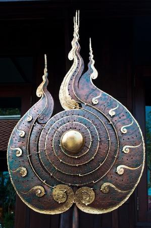 Luck symbol of Buddhism. photo