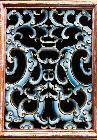 China window designs. photo