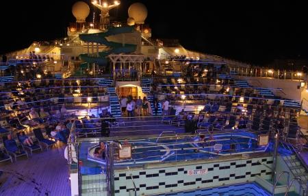 lido: A cruise ship