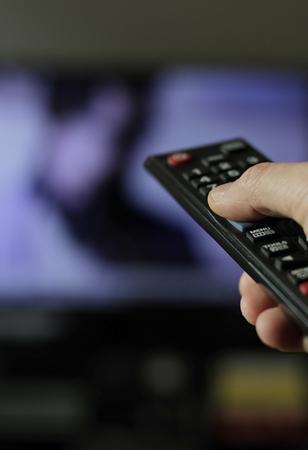 리모콘을 사용하여 TV 채널 변경하기