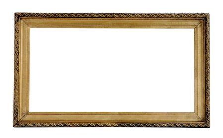 antiquarian: old frame Stock Photo