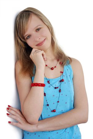 pretty young girl photo