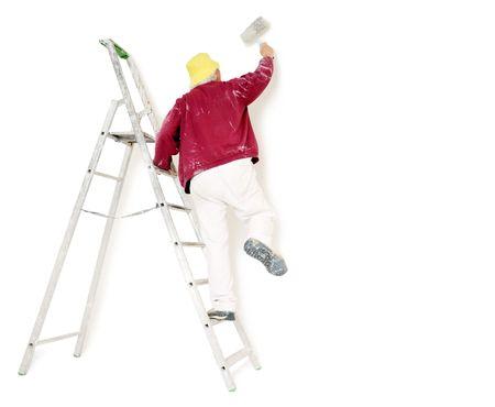 peintre en b�timent: housepainter