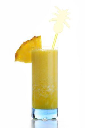 juice of pineapple Stock Photo